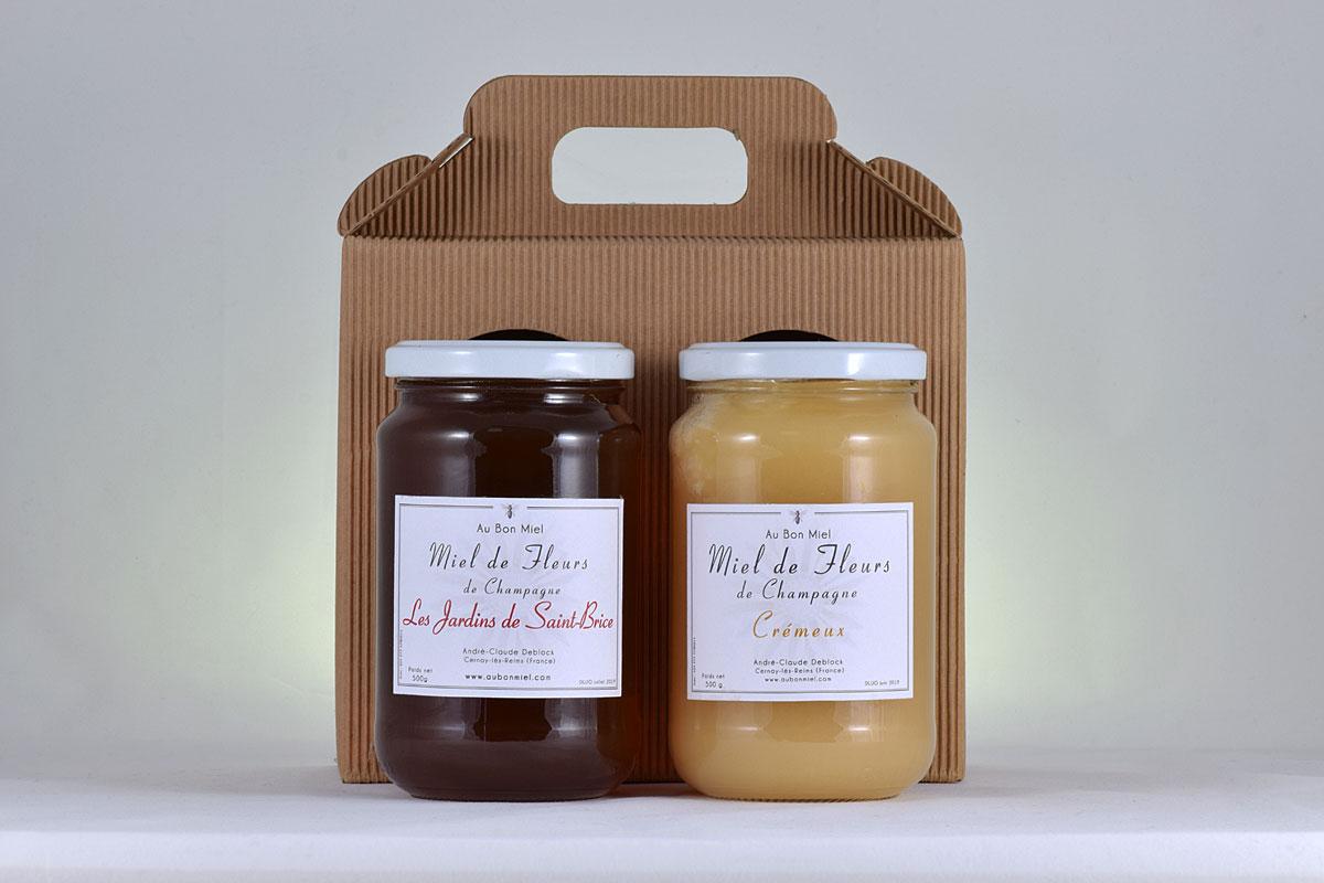 f6ff380309de Offrir du miel   Les coffrets cadeaux